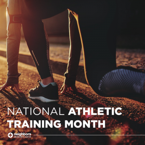 Atheltic Training Month
