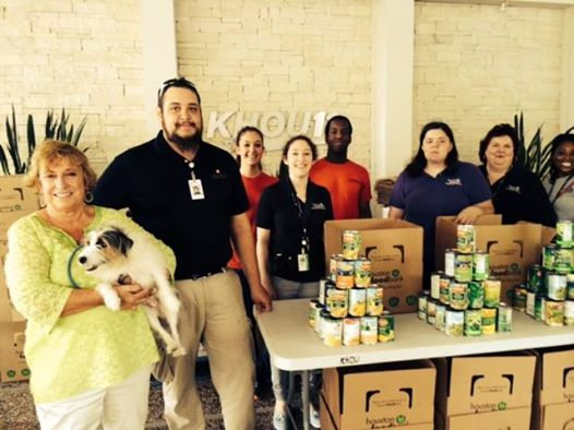 KHOU food bank