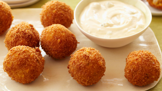 Super Bowl Recipes - Chicken Cheese Balls