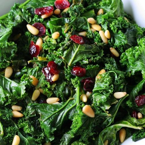 savory salad greens